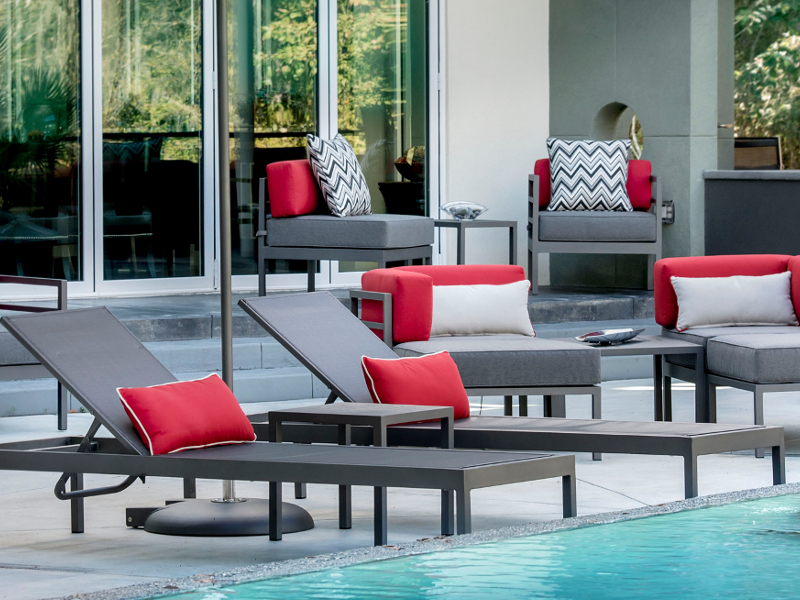 Luxe Pool Furniture Collection